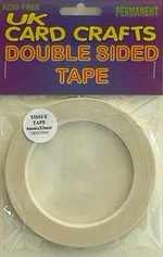 5 X 3mm x 33 Meters Double Sided Tissue Tape - UKCC0041